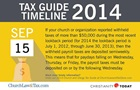 Tax Guide Reminder: September 2014
