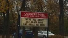 Church Signs of the Week: November 21, 2014