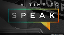 Race in America: A First Person Report from #ATimeToSpeak