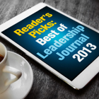 Reader's Picks: Best of 'Leadership Journal' 2013