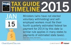 Tax Guide Reminder: January 2015