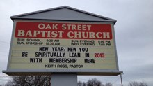 Church Signs of the Week: January 2, 2015