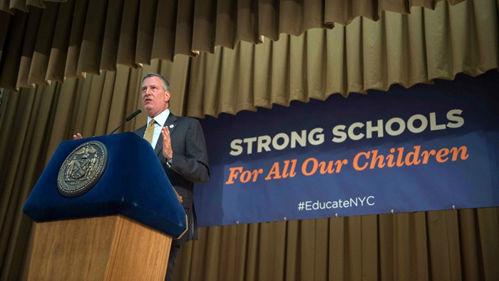 No Worship Services in Public Schools, New York Mayor Tells Supreme Court