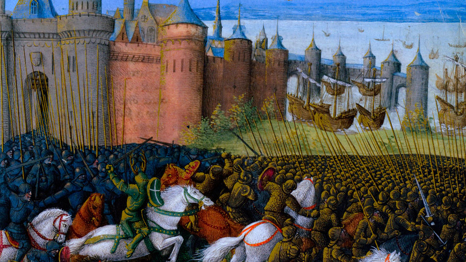 a research on christian crusades and muslim jihads Just wars, holy wars and jihads: christian, jewish, and muslim encounters and exchanges.