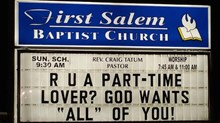 Church Signs of the Week: February 20, 2015