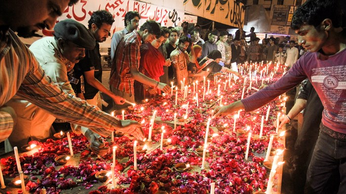 Suicide Bombers Attack Sunday Services in Pakistan's Largest Christian Neighborhood