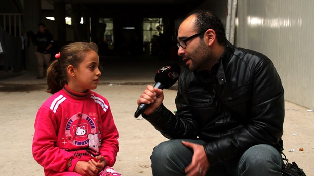 SAT-7 interviews 10-year-old who fled Mosul.