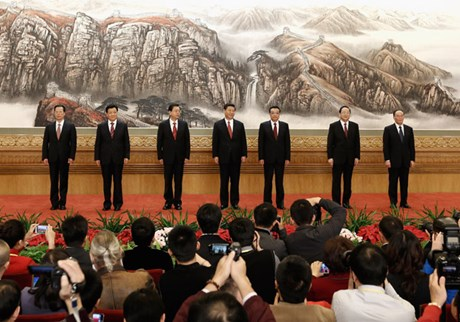 What China's Seven New Rulers Mean for Its 80 Million Christians