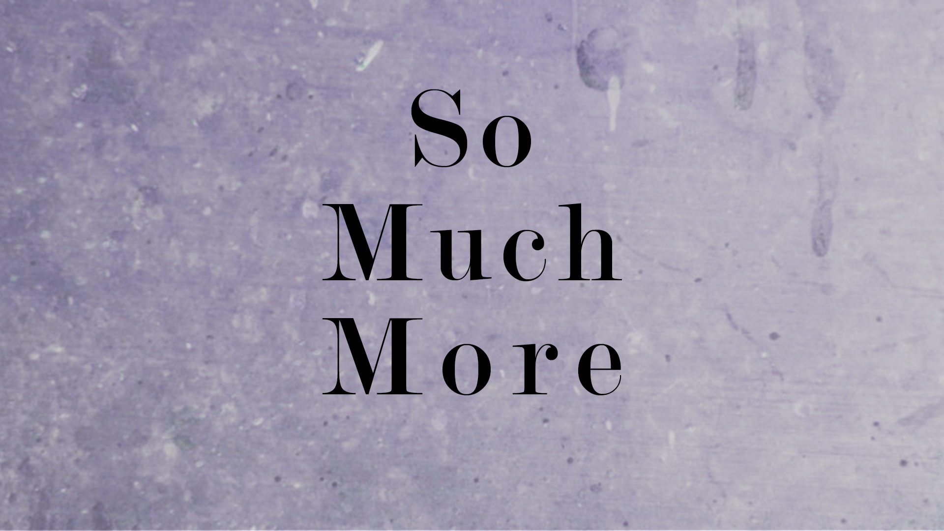 Grace is So Much More