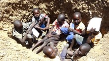 With Children in Foxholes