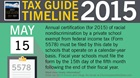 Tax Guide Reminder: May 2015