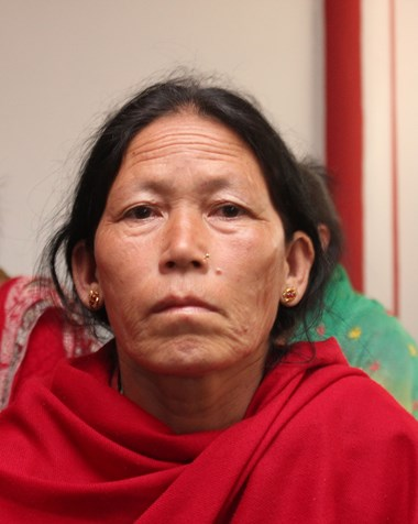 Maili Tamang lost her husband Maila, her sister, and three other family members when Vision of Salvation church collapsed.