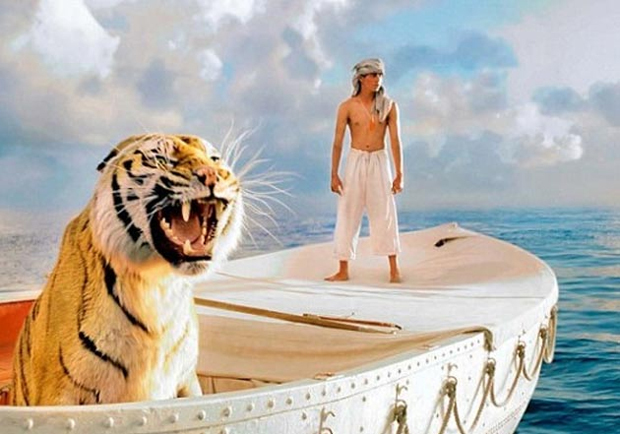 what color represents christianity in life of pi