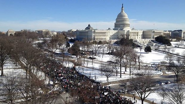 Evangelicals Join March for Life as Abortions Plummet in Pro-Choice States