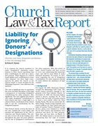Church Law & Tax Report