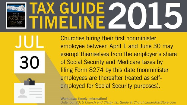 Tax Guide Reminder: July 2015