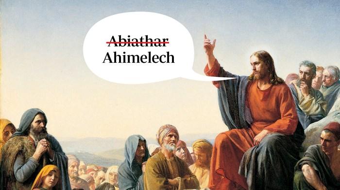 When Jesus Got the Bible Wrong