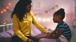 Priscilla Shirer and Alena Pitts in 'War Room'