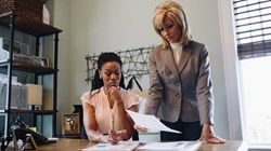 Priscilla Shirer and Beth Moore in 'War Room'