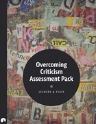 Overcoming Criticism Assessment Pack