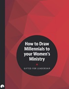 How to Draw Millennials to your Women's Ministry
