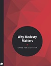 Why Modesty Matters