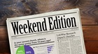 Weekend Edition: October 9, 2015