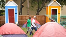 From Tent City to Tiny Houses