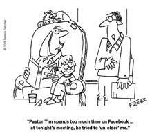 Facebooking Pastor