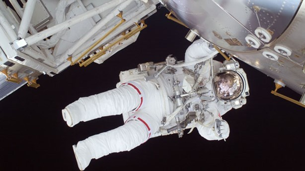 Astronaut Goes On Strike In Outer Space