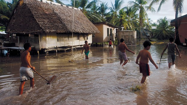 Teaching Natural Theology as Climate Changes Drown a Way of Life