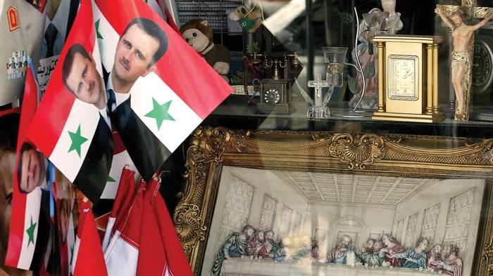 Syria's Christians Back Assad