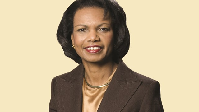 Interview: Condoleezza Rice's Faith Context for Foreign Policy