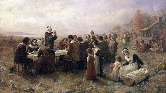 A Thanksgiving Prayer From Old