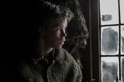 Will Poulter in 'The Revenant'