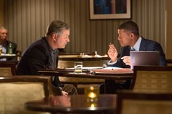 Will Smith and Alec Baldwin in 'Concussion'
