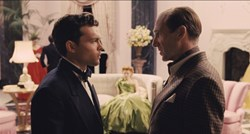 Ralph Fiennes and Alden Ehrenreich in 'Hail, Caesar!'