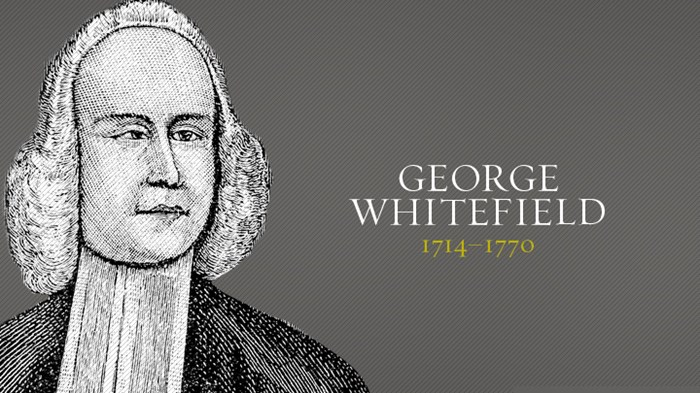 George whitefield christian history