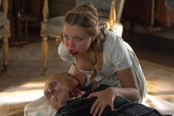 Jess Radomska in 'Pride and Prejudice and Zombies'