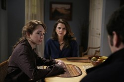 Keri Russell and Holly Taylor in 'The Americans'