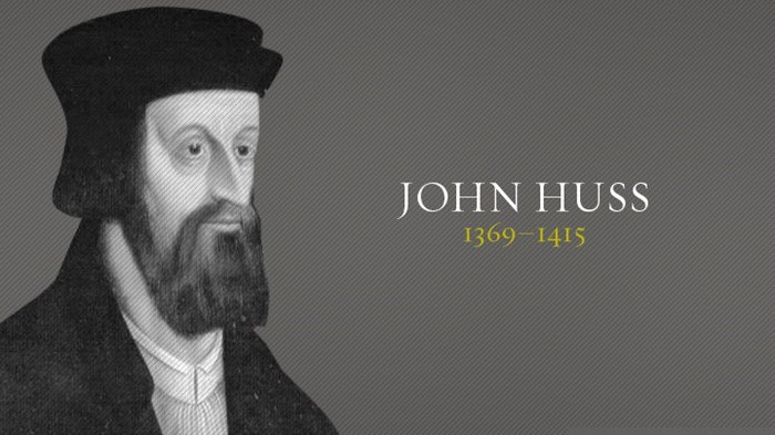 john huss John huss (aka jan hus) is regarded to be one of the earliest known religious  thinkers and reformers in the world a philosopher and a master at charles.