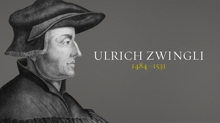 ulrich zwingli protestant reformer 1 january 1484 - swiss reformer, ulrich zwingli, was born 1 january 1484 1 january 1519 - on his 36 th birthday, zwingli shocked his new congregation at.