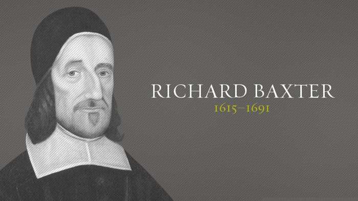 christian singles in baxter Richard baxter seems to be largely known today for his works of practical theology, including, the christian directory, which has been used in some quarters as a manual of christian counseling,.