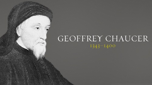 an introduction to the life and literature by geoffrey chaucer The wife of bath offers readers a complex portrait of a medieval woman english literature an introduction to the analysis of the literature by chaucer essays.