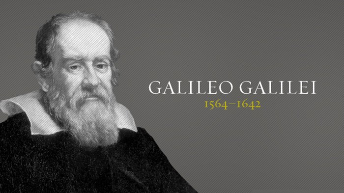a biography of the life and ideologies of galileo galilei This well documented print out of a lecture explores the possiblities and demonstrates that leonardo da vinci's  we are in this life  galileo galilei,.