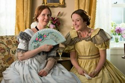 Cynthia Nixon and Jennifer Ehle in 'A Quiet Passion'