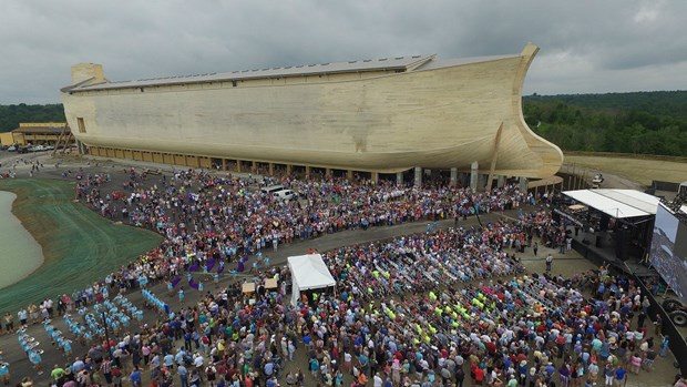Ken Ham's Enormous Ark Park Open for Business