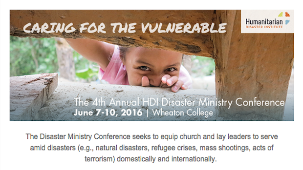 Saturday is for Seminars—HDI Disaster Ministry Conference