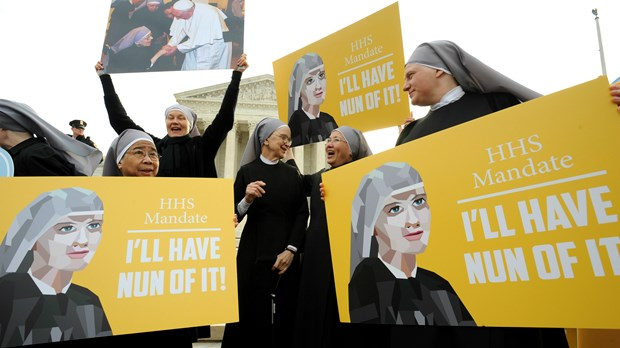 Supreme Court Sends Little Sisters Case Back to Lower Courts