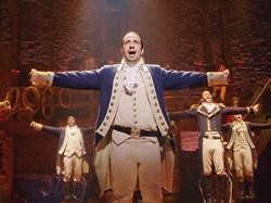 Alexander Hamilton in 'Hamilton: An American Musical'